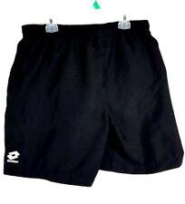 LOTTO Italian Sport Design Men Medium M  Black lining Shorts