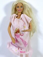DRESSED BARBIE DOLL IN BARBIE NIGHTGOWN