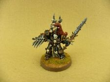 Warhammer 40k painted Chaos Space Marines Abaddon the Despoiler