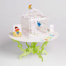 3d Table&birdcage Pop up Greeting Card Birthday Wedding Gift Handmade Postcard.-