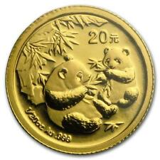 2006 China 1/20 OZ GOLD PANDA BU (versiegelt) #PAPPS 19870 Lot 20161285
