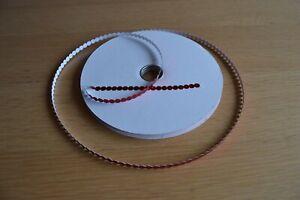 Paillettes Courbé 6 mm courbé 3500 St//BOX Iris Argent