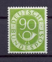 Bund 138 Posthorn 90 Pfg. postfrisch Kurzbefund HD Schlegel (ts141)