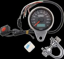 Drag Specialties KPH Electronic Speedo Odometer Speedometer Harley Davidson