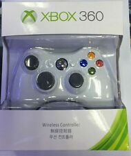 Microsoft Xbox 360 Video Game Wireless Controller Remote (White) - Brand NE
