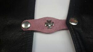 pink leathet vest extenders x5#45
