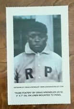 Rube Foster Centennial Negro Leagues Special Edition Bobbleheads RARE #36 of 100