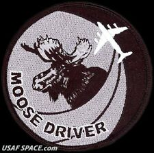 USAF 57th WEAPONS SQUADRON -MOOSE DRIVER- C-17  -McGuire AFB, NJ- ORIGINAL PATCH