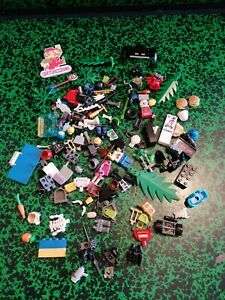LEGO lot vrac accessoires  star wars vintage Harry Potter pirate hamburger fleur