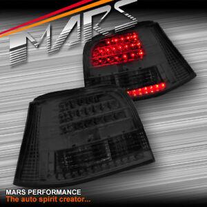 Smoked Black LED Tail Lights for VolksWagen VW 98-04 GOLF IV MK4 GTI R32