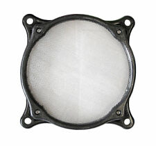 92mm Washable Stainless Steel Fan Filter, Black