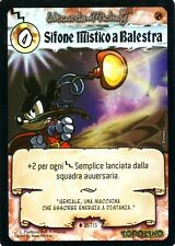 WIZARDS OF MICKEY Sifone Mistico a Balestra 85/115 IL TORNEO FOIL ITA NEAR MINT
