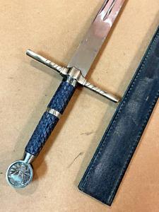 The Witcher Steel Sword of Geralt of Rivia Handmade Replica