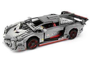 Mould King 13110 Lamborghinis Veneno Roadster Moc Building Blocks Set 1170pcs