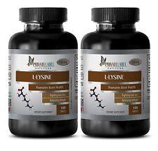 Enhances Immune Function - L-LYSINE 500mg - Body Building Supplement 2B