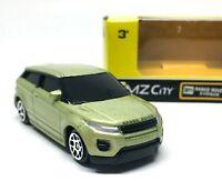 Range Rover Evoque Metallic Green Diecast 1/64 (Approx 2.5 inches) RMZ City