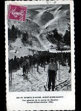 MONT DORE (63) SPORT SKI / CONCOURS de DESCENTE Coupe GILBERT SARDIER en 1936