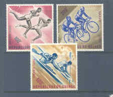 GUINEE 1963 OLYMPIC TRIO VERY FINE MNH