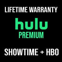 HULU PREMIUM Account ✅ HBO ✅ SHOWTIME ✅ LIFETIME WARRANTY  l   QUICK DELIVERY