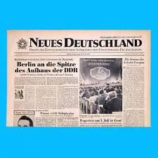 DDR Neues Deutschland April 1958 Geburtstag Hochzeit 56. 57. 58. 59. 60. 61. SED