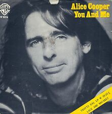 "7"" Alice Cooper-You and Me/It 's Hot cette nuit // Italy 1977"