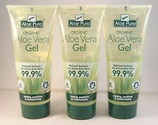 3 tubes aloe vera pure 200ml bio gel