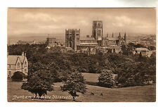 Durham From Observatory Photo Postcard c1910