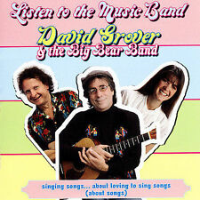 NEW SEALED Listen to Music Band by David Grover (CD, Aug-2007, Koch (USA))