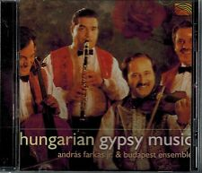 HUNGARIAN GYPSY MUSIC - ANDRAS FARKAS JR. & BUDAPEST ENSEMBLE - MINT CD