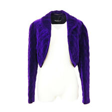 Authentique TRICOT Par comme des Garcons Veste Manches Longues Violet Y04117e