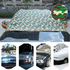 Camouflage Style Car Windshield Cover Sun Shade Protector Rain Dust Frost Guard