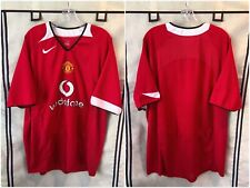 Manchester United 2004/06 Home Soccer Jersey 2Xl Nike