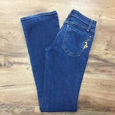 Baby Phat Sz 1 Phat Fashions Silver Label Jeans Stretch Gold Cat Womens Jr Sz 1