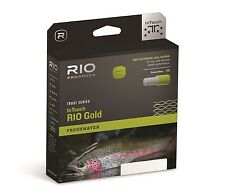 RIO InTouch Gold Fly Line - Max Float - Trout Fly Line - Save 10%25 - 2018 Stock