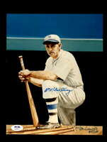 Bill Terry PSA DNA Coa Hand Signed Ron Lewis 8x10 Photo Autograph