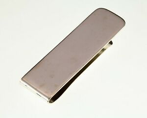 Tiffany & Co. Vintage Sterling Silver Money Clip 17.5MM Wide
