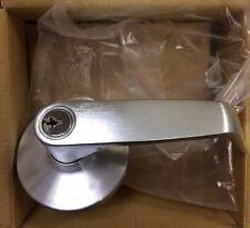 PDQ Door Trim 4200 Key In Lever Rose Satin Chrome