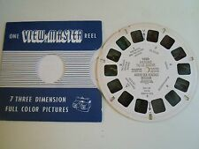 1956 Vintage Sawyers Viewmaster Reel ~ OSTEND TO LE ZOUTE N. SEA BEACHES BELGIUM