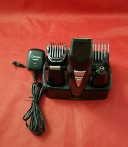 Philips Norelco G370 Beard & Hair Trimmer Set w/ All Attachments & Charge Stand