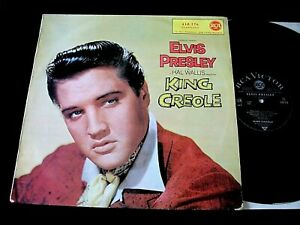 33T BOF ELVIS PRESLEY KING CREOLE ORIGINAL FRANCE EDITION 1962