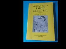 GIORGIO CELLI: PARIDE ELENA & C. del 1983