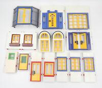 Playmobil System X Ersatzteil Zubehör Wand Elemente Türen & Fenster