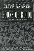 Books of Blood : Volumes One to Three, Paperback by Barker, Clive, Brand New,...