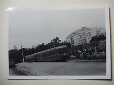 TUN09 - 1960s SNCF A VOIE ETROITE - TUNIS RAILWAY - TRAIN PHOTO Tunisia