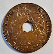 Französisch Indochina - France China - 1 Cent - 1938 A - ss-vz (1239