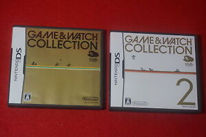 Club Nintendo Game & Watch collection 1 2 sets DS
