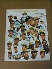 Pittsburgh Pirates, 1973 Yearbook, Roberto Clemente Tribute, Clean