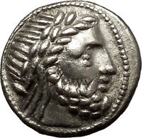 Celtic Eastern Europe Silver Tetradrachm as Greek Philip II Macedon Coin i54001