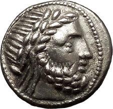 Celtic Eastern Europe Silver Tetradrachm as Greek Philip II Macedon Coin i54001