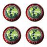 Triumph Vitesse Globe Logo Self Adhesive Set of 4 Gel Wheel Centres